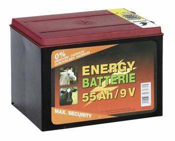 Lucht-zuurstof batterij 9V/55Ah