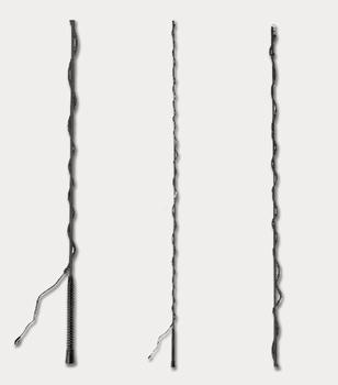 Longeerzweep, zwart, 180 cm