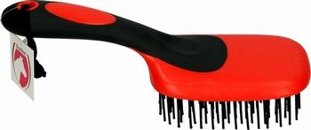 Exellent staart- en manenborstel Rood