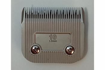 Huismerk staal keramische coating #10 - 1,5 mm
