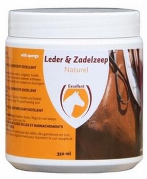 Zadel Zeep Excellent met spons