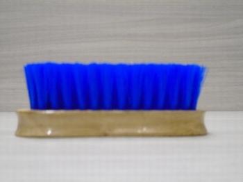Hoofdborstel blauw