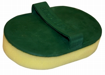Zweetspons met rubber handvat