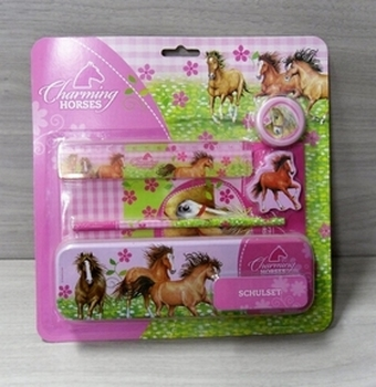 Charming Horses schoolset