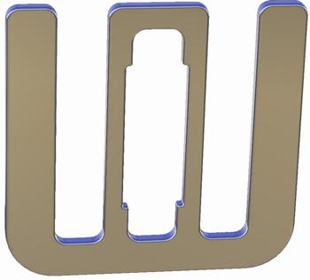 Lintverbinder 10 - 12 mm lint