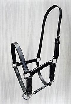 Lederen halster volwassen minipaard