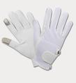 Touch One rijhandschoenen - wit